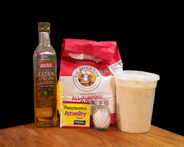 Sourdough Bread, you'll need these ingredients.