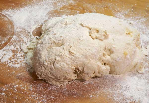 Sourdough Bread, place on board.