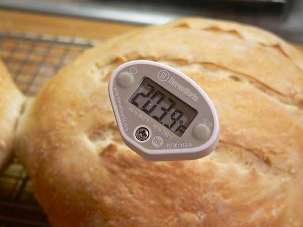 Sourdough Bread, bake to temp.