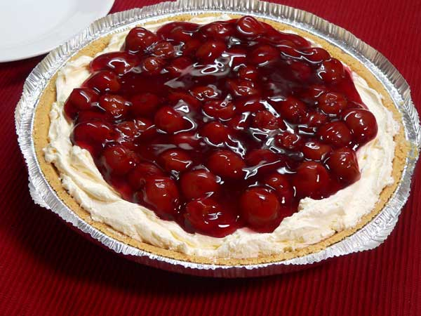 No Bake Pie, enjoy.
