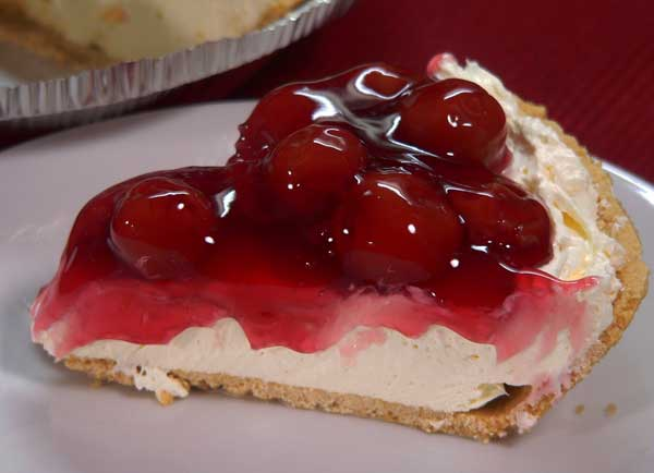No Bake Pie, enjoy a slice.