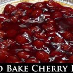 No Bake Cherry Pie Recipe