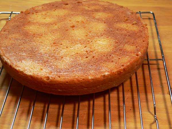 Golden Butter Cake, remove from pan after 10 minutes.
