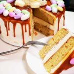 Easter Bunny & Eggs Cake Recipe