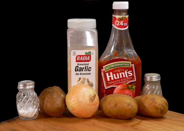 Home Fries, you'll need these ingredients.