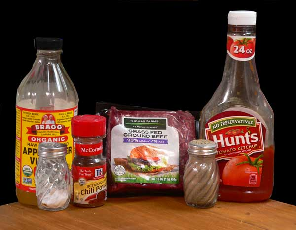 Hot Dog Chili, you'll need these ingredients.