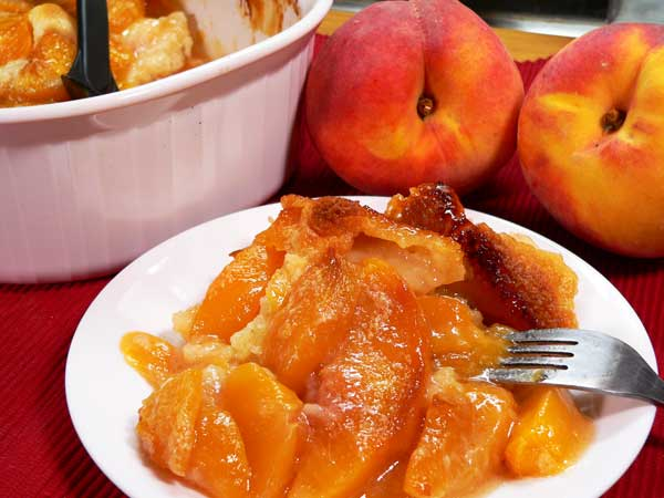 Peach Cobbler, enjoy!