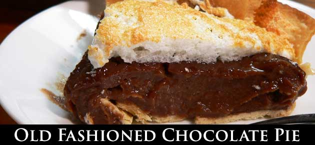 Chocolate Pie, slider