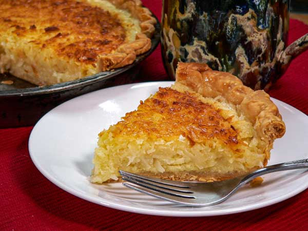 Coconut Pie, enjoy.