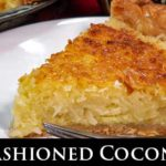 Old Fashioned Coconut Pie Recipe