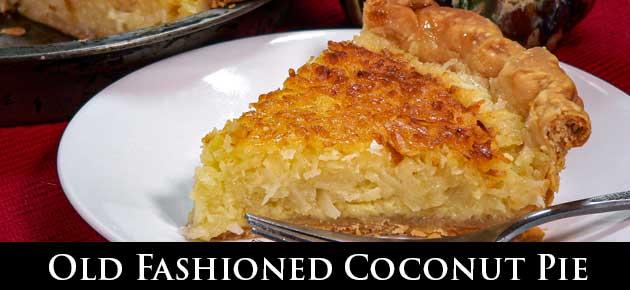 Coconut Pie, slider.