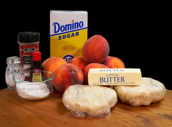 Peach Pie, you'll need these ingredients.