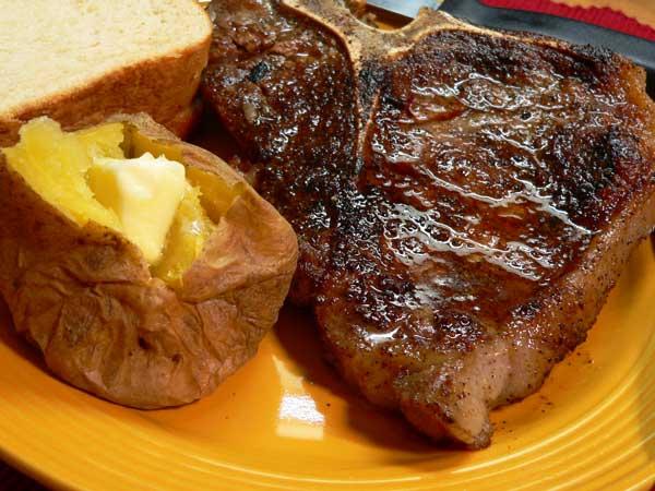 Skillet Steak, enjoy!