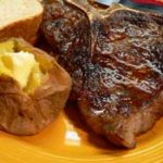 Skillet Steak, printbox