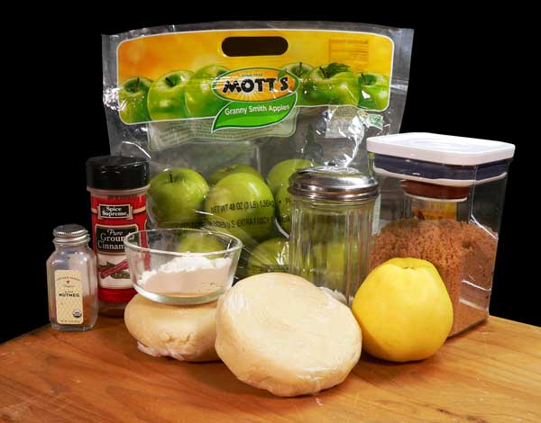 Apple Pie, you'll need these ingredients.