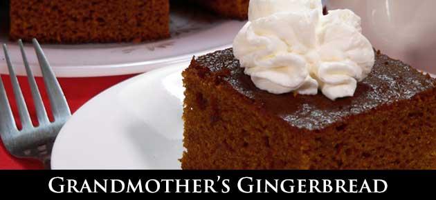 Gingerbread, slider.