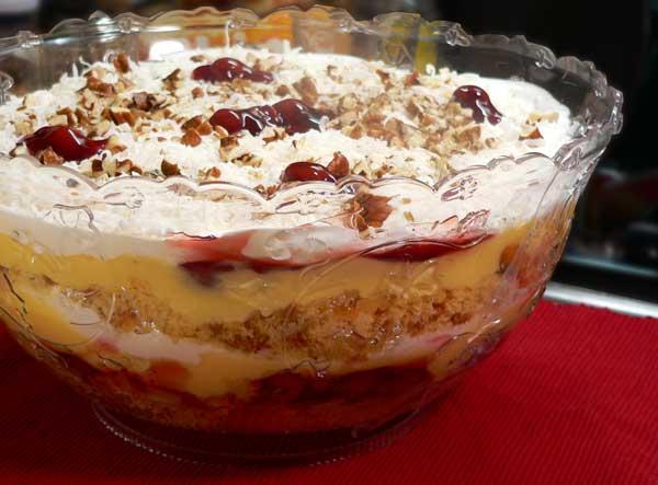 Punch Bowl Cake, enjoy.