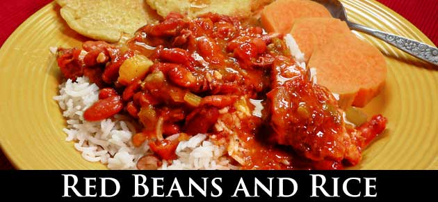 Red Beans and Rice, slider
