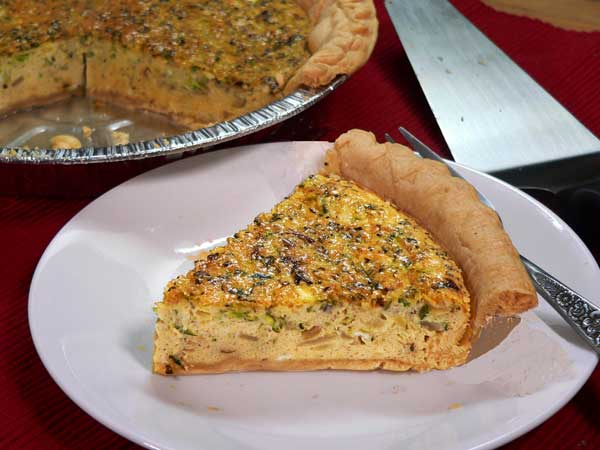 Zucchini Quiche, enjoy!