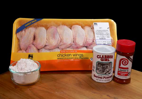 Chicken Wings, ingredients.