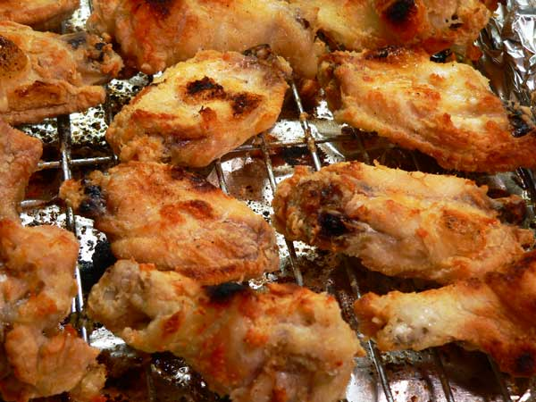 Chicken Wings, broil carefully.