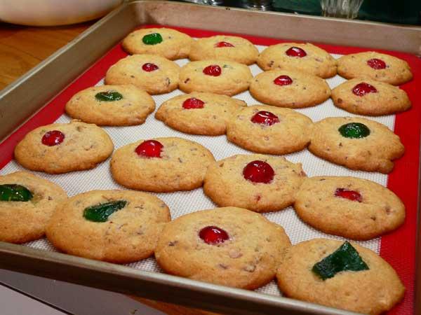 Fruitcake Cookies, smaller batch.