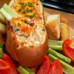 Baked Crab Dip Bowl Recipe
