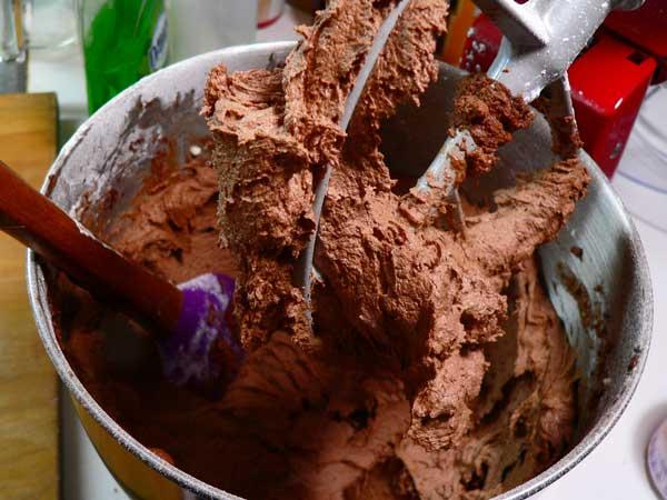 Chocolate Buttercream, it's ready.