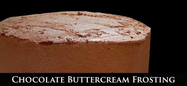 Chocolate Buttercream, slider.