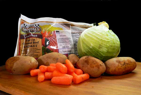 Corned Beef Brisket, you'll need these ingredients.