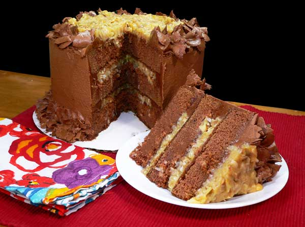 German Chocolate Cake, enjoy!