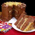 German Chocolate Cake, printbox.