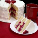 Raspberry Heart Cake Recipe