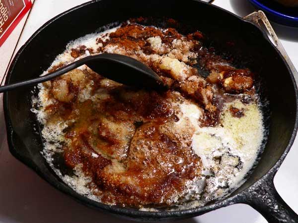 Fried Apples, stir well.