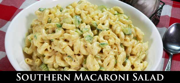 Macaroni Salad, slider.