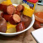 Cajun Sausage Boil, printbox.