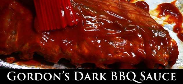 Dark BBQ Sauce, slider.