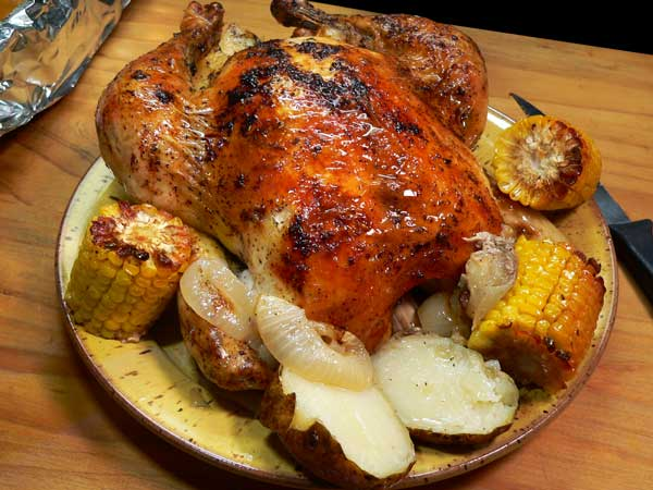 Garlic Roast Chicken, enjoy!