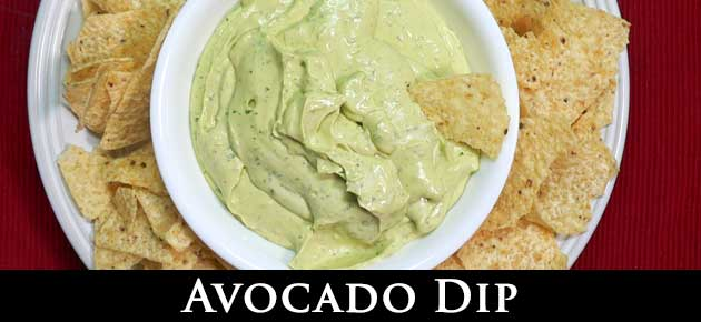 Avocado Dip, slider.