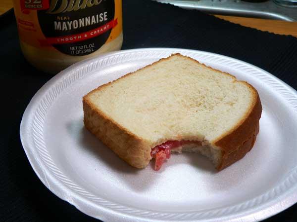 Tomato Sandwich, enjoy.
