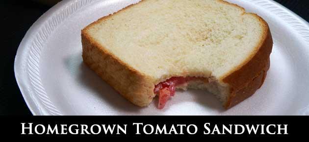 Tomato Sandwich, slider.
