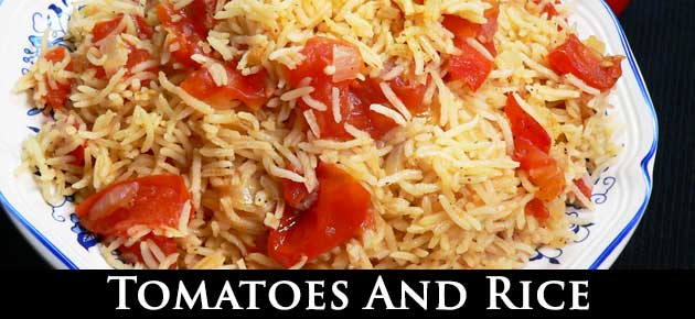Tomatoes and Rice, slider.