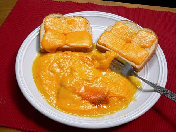 Hoop Cheese Toast, enjoy!