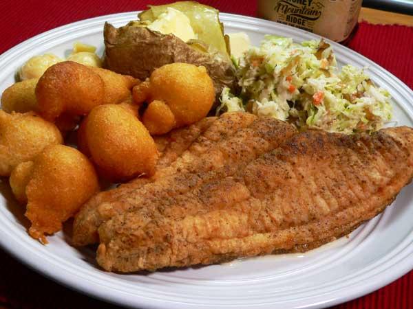 Fried Catfish, enjoy!.