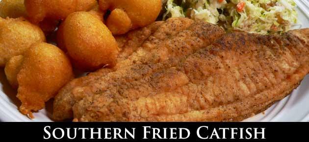 Fried Catfish, slider.