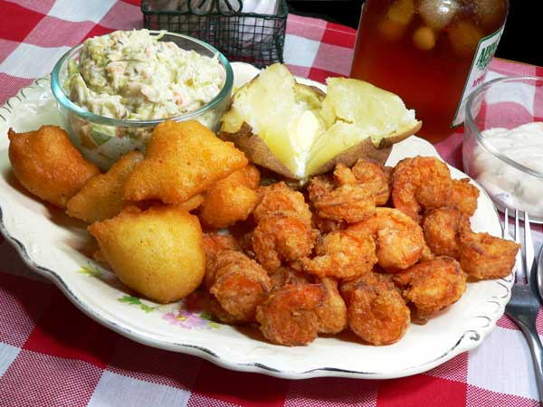 Calabash Fried Shrimp, enjoy.