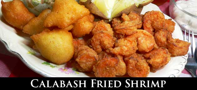 Calabash Fried Shrimp, slider.