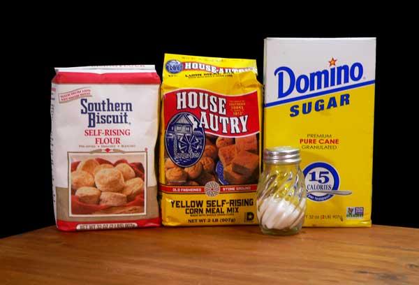 Hushpuppies, ingredients.