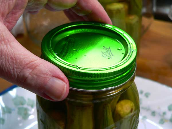 Pickled Okra, add the band.
