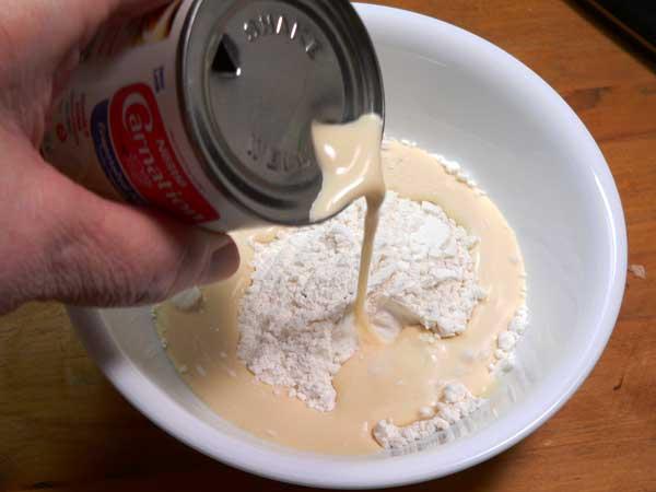 Chicken Noodle Soup, add milk.